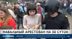Протесты в Москве 12 июня 2017