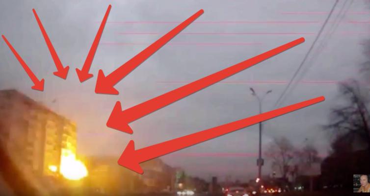 Взрыв газа в 9-этажном доме, Ижевск, Удмуртская 261